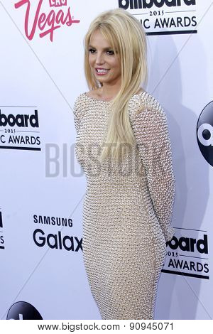 LAS VEGAS - MAY 17:  Britney Spears at the Billboard Music Awards 2015 at the MGM Garden Arena on May 17, 2015 in Las Vegas, NV