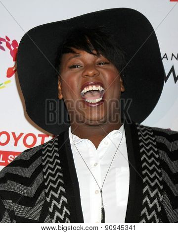 LOS ANGELES - MAY 16:  Alex Newell at the