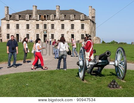 French Castle In Old Fort Niagara
