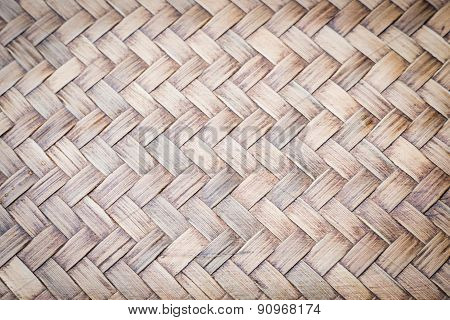 Sheet Of Bamboo Craft Texture