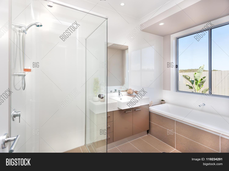 Modern Bathroom Faucet Image & Photo (Free Trial)   Bigstock