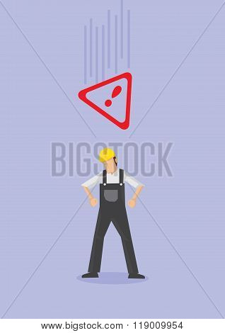 Work Safety Conceptual Vector Illustration