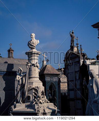 Recoleta Cemetery graves