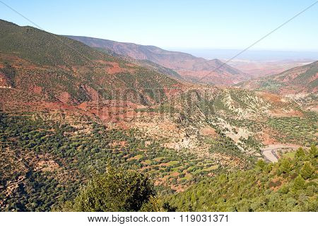 The    Dades Valley    Morocco Africa Ground