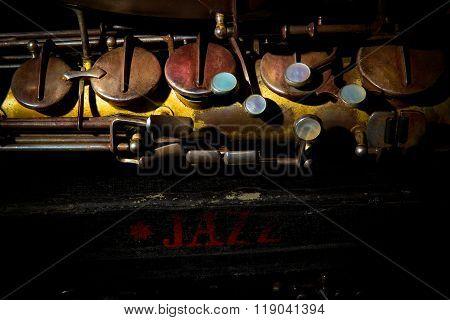 Saxophone (detail)