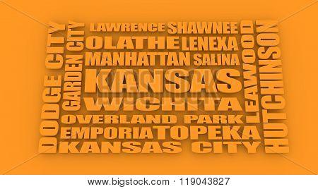 Kansas State Cities List