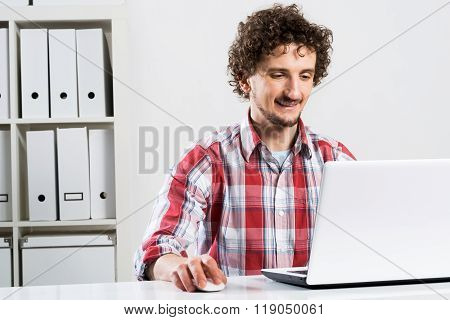 Man working in office