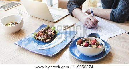 Edible Eating Dieting Delicious Cafe Casual Tasting Concept