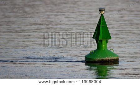 Green Buoy Marker