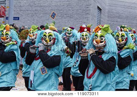 Basel (switzerland) - Carnival 2016