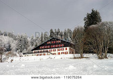 Single Hotel In French Mountains, Ski Resort