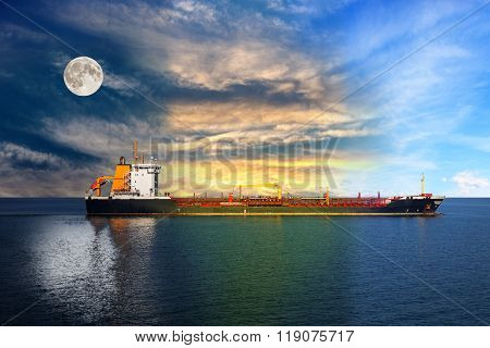 Ship On Sea