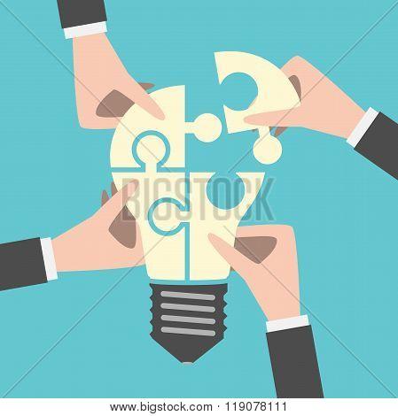 Four Hands Building Idea