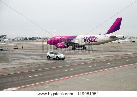 Airport in Warsaw