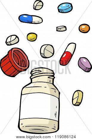 Vial Of Pills