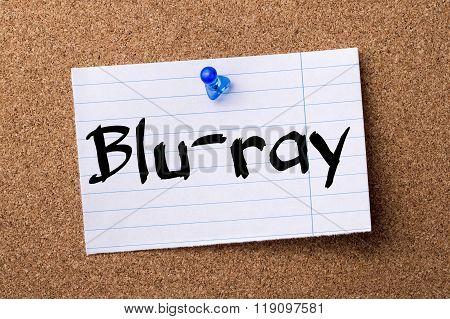 Blu-ray - Teared Note Paper Pinned On Bulletin Board