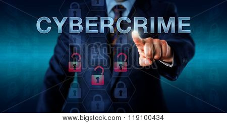 Crime Investigator Pushing Cybercrime.