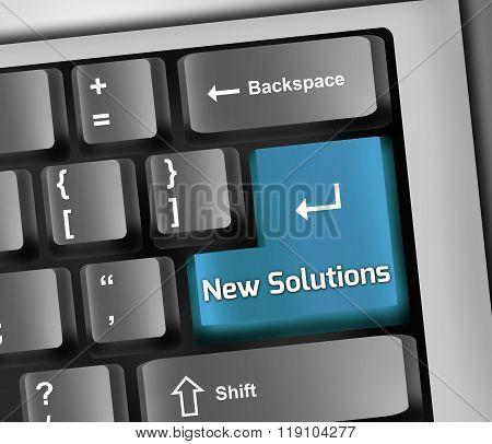 Keyboard Illustration New Solutions