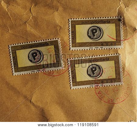 Stamp Of Italy