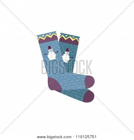 Colorful Socks Pair