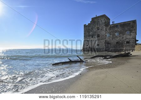 The Beach Of Torre Mozza