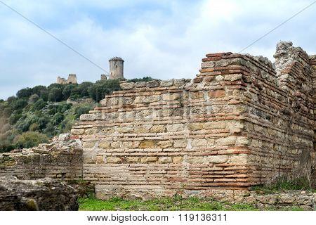 Elea Velia In Roman Times, Is An Ancient City Of Magna Grecia