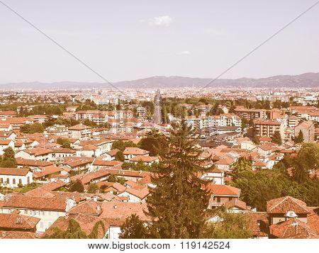 Turin Panorama Vintage