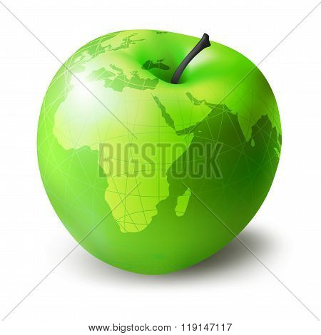 Green Apple Decorative
