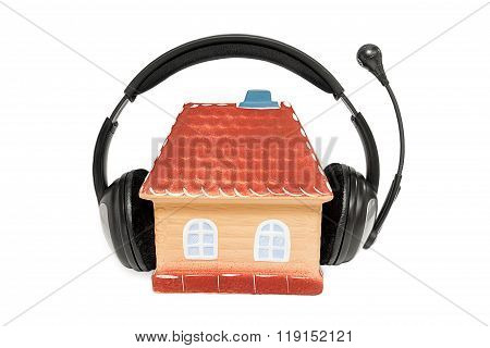 House With Headphones