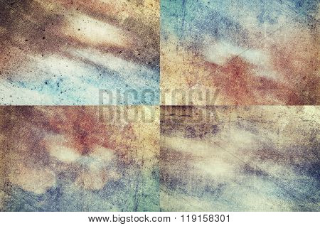 Colored Grunge Texture Backgrounds