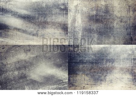 Grey Colored Grunge Texture Backgrounds