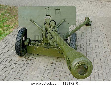 76-mm Divisional Gun Of World War Ii