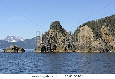 Rugged Islands On Remote Coast