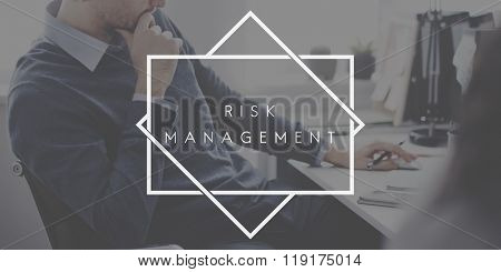 Risk Management Unsure Assessment Concept