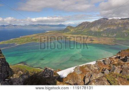 Lofoten is an archipelago and a traditional district in the county of Nordland, Norway. poster