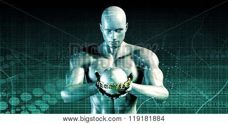 Digital Banking Security Transaction as a Concept poster