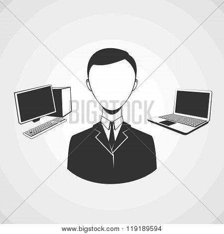 Programmer avatar profile userpic