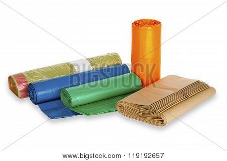 Rolls Of Trash Bags