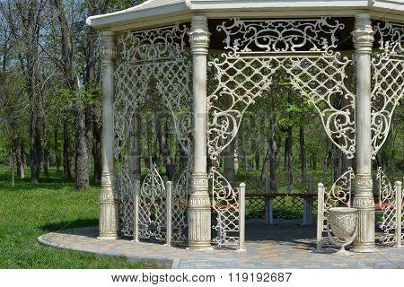 Beautiful gazebo in the park