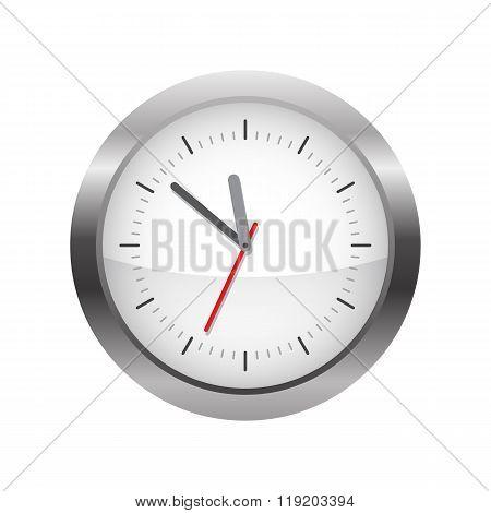 Circle Analog Wall Clock
