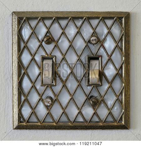 Retro Old Style Lightswitch