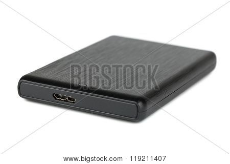 Black Portable Hard Disk