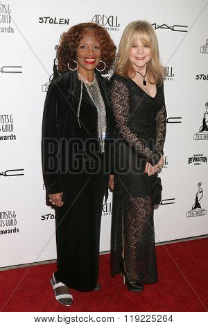 LOS ANGELES - FEB 20:  Marlene Mason, Patti Denney, Young and Restless Make-up at the Make-Up Artists And Hair Stylists Guild Awards at the Paramount Studios on February 20, 2016 in Los Angeles, CA