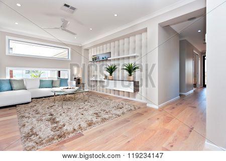 Inside Of A Modern Living Room