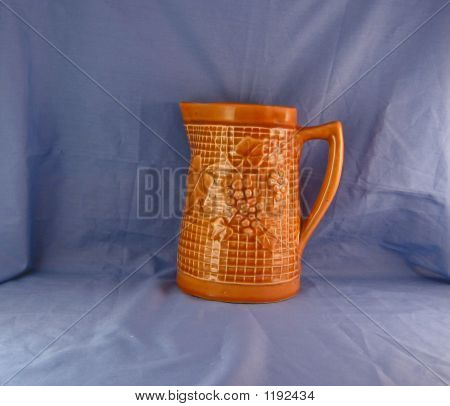 Antique Grape Pitcher