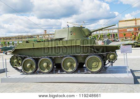 Soviet Tank Bt-7