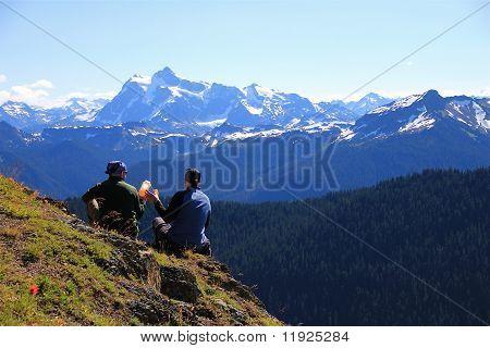 mountain friendship