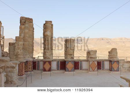 Herods Palace in Masada