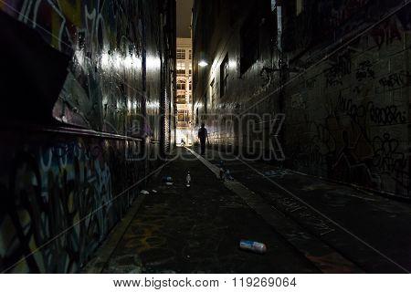 Melbourne Alleyway Graffiti