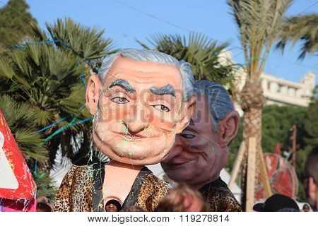 Dominique Strauss-kahn - Carnival Of Nice 2016